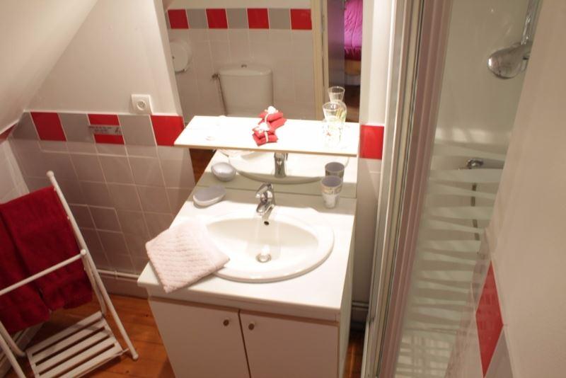 Salle de douche gîte de réception