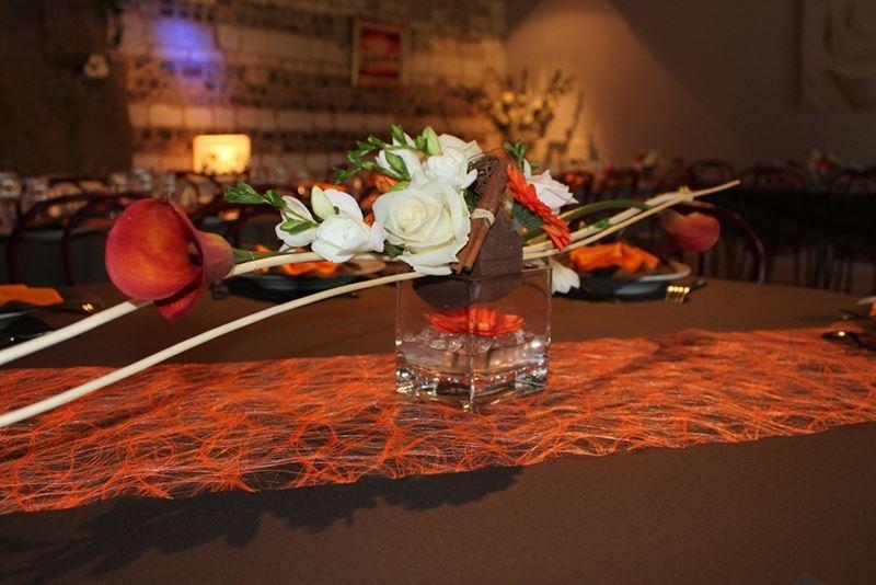 Centre de table pour décorer votre fête