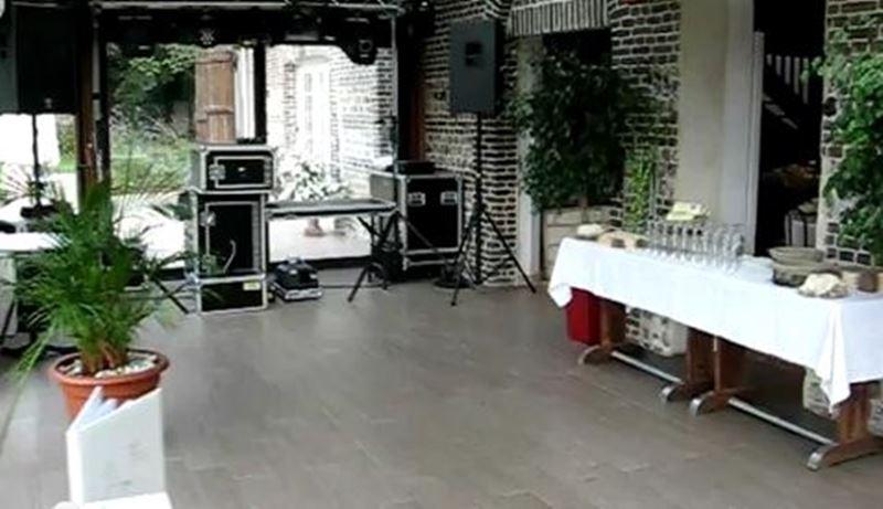 Salle de fêtes avec véranda en Normandie