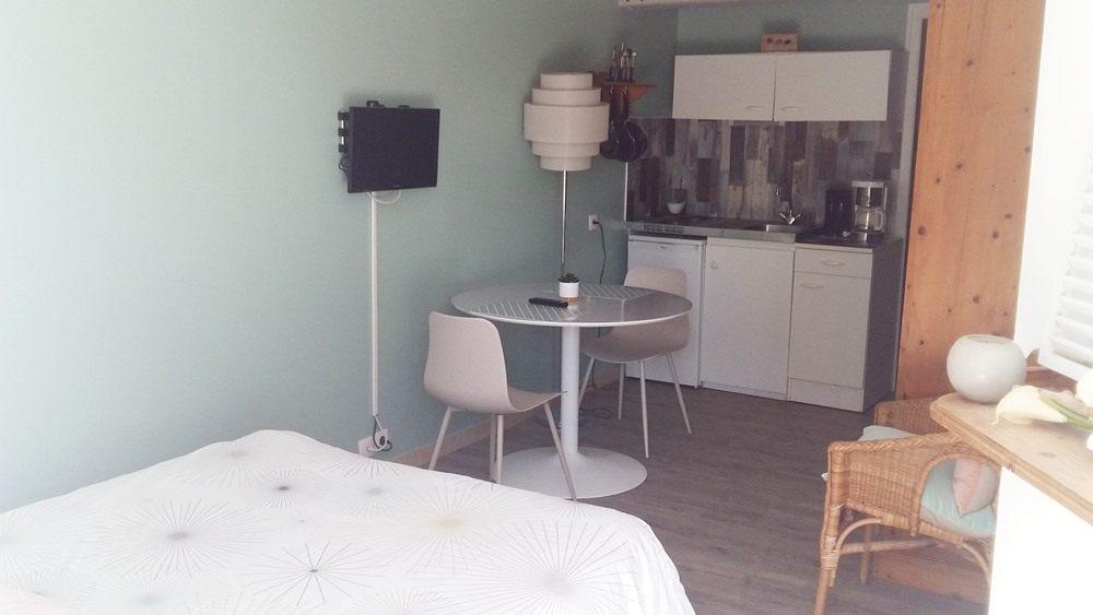Studio meublé environnement calme Normandie